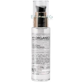 Органічна сироватка для відновлення структури волосс з оліями аргана, іланг-ілангу