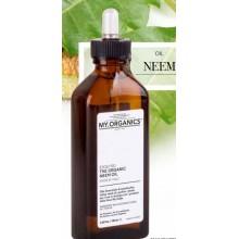 Органічна олія Нім для стимулювання росту, зволоження, зменшення ламкості волосся